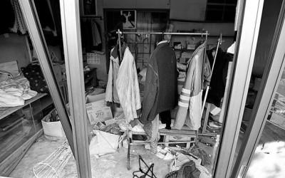 """Залишені будинки у м .Футаба у жахливій """"капсулі часу"""" Фото: Джуліан Сіммондз [Julian Simmonds] для The Telegraph"""