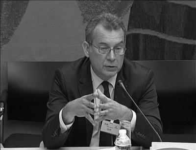 """П'єр-Франк Шеве. Шеве є головою Агенції ядерної безпеки Франції (ASN). Раніше в цьому році він зазначив, що: """"Ядерна безпека та радіаційний захист стикаються з безпрецедентними викликами"""". Джерело: ASN"""
